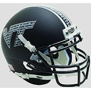 Virginia Tech Hokies Black Brick Officially Licensed Full Size XP Replica Football Helmet