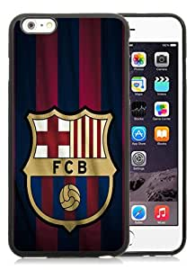 Hot Sale iPhone 6 Plus/iPhone 6S Plus TPU Case ,Unique And Fashion Designed Case With FC Barcelona Logo black iPhone 6 Plus/iPhone 6S Plus Screen Cover Custom Drsigned Phone Case