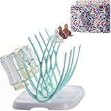 Baby Bottle Drying Rack and Dish Dryer Rack for Toddler Sippy Cups,Bottle Nipples Accessories Space Saver