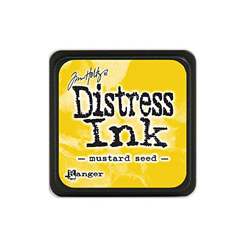 Tim Holtz Distress Mini Ink Pads - Mustard ()