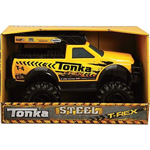 516WZjm0ajL - Tonka 90604 Steel 4x4 T-Rex Vehicle by Tonka