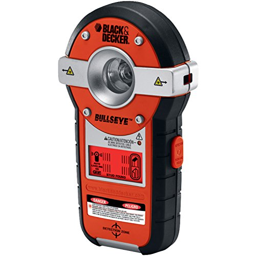 Black & Decker BDL190S BullsEye Auto-Leveling Interior Line Laser with Stud - Level Bullseye