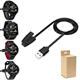 Charging clip cradle for Garmin Forerunner 235, Sync Data Cable Charger Charging dock for Garmin 35/ 735XT Approach S20 Smart Watch