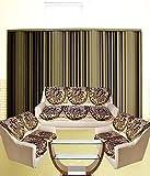 Tanya's Homes Elegant Chenille & Velvet Sofa Covers for 7 Seater Sofa(Pack of 14 Sofa Panels)(2 Tripple Seater;4 Double Seater)