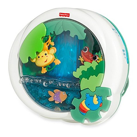 Fisher-Price Rain Forest Waterfall Peek-a-Boo Soother