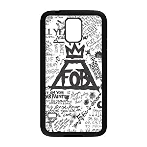 Personalized Premium TPU Rubber Case for Samsung Galaxy S5 GS5 S V [FOB Fall Out Boy]