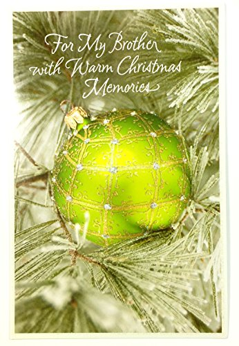 Christmas Cards for Brother(For My Brother with Warm Christmas Memories... American Greetings Each