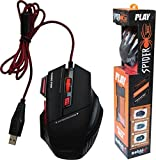 spincart Gaming Mouse with 7 Buttons for PC