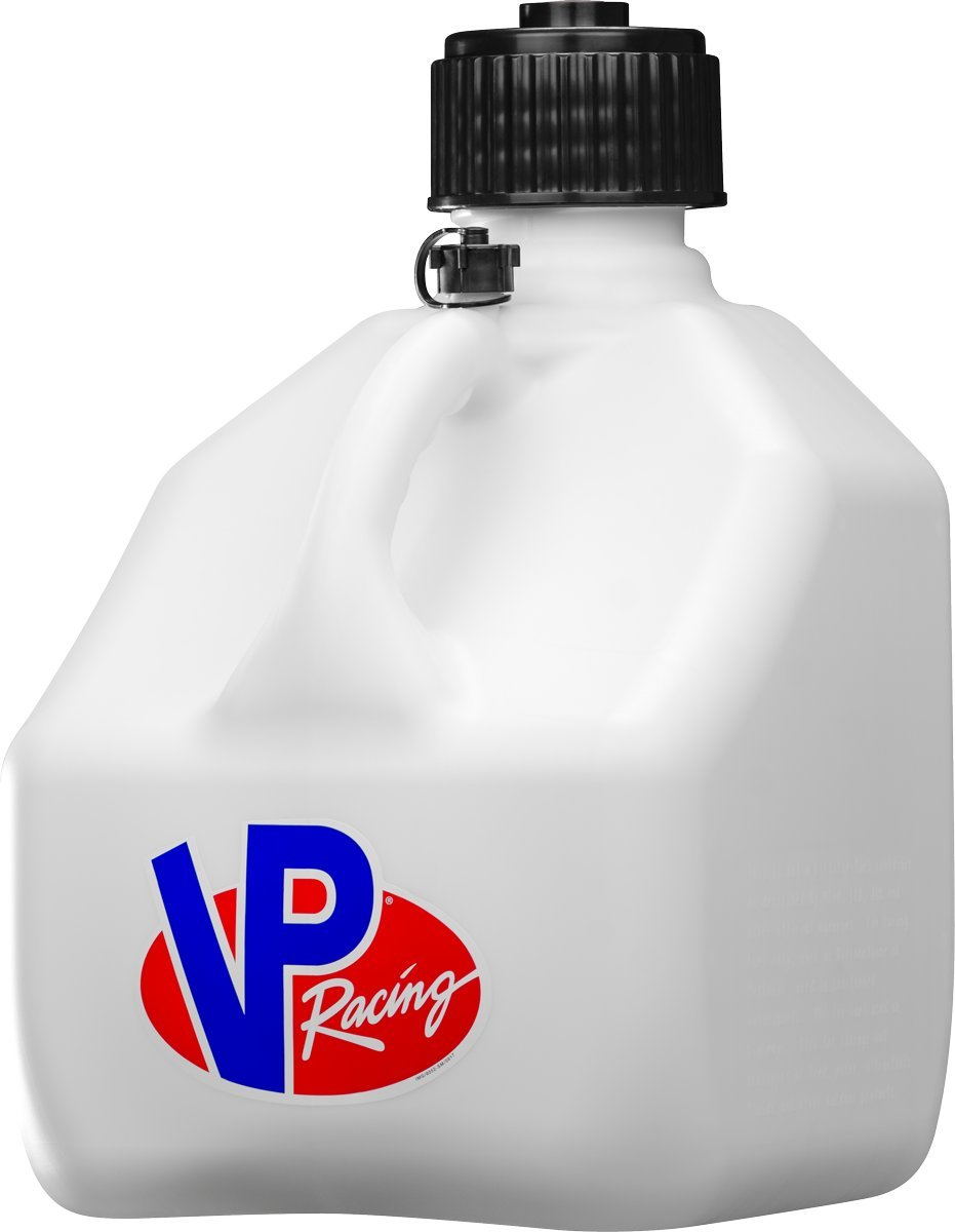 VP Racing 3-Gallon Motorsportsman's Container (White) VP Racing Fuels