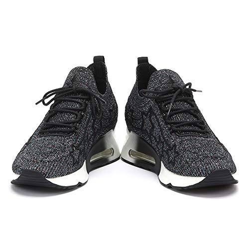 con traspirante mesh cenere di di in pattino forma pantofola multi forma a a d'aria Pantofole cuscino donna cenere wqfxnAgx