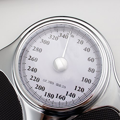 Kinlee High Quality Stainless Steel Professional Extra-Large Analog Mechanical Dial Precision Scale (SILVERII)