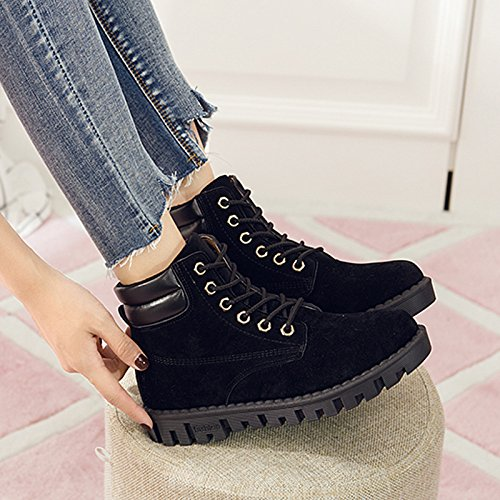 Boots And eight Version Casual Tooling In Shoes Style Shoes Korean Tube Student Boots Of KPHY Leisure Retro Martin British The Thirty zxpqXII