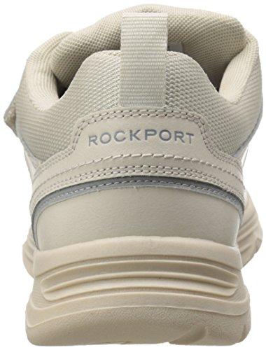 Rockport Mens Stato-o-motion Gancio E Passante Sport Bianco Pelle 16 W (ee)