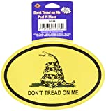 Don't Tread On Me Peel 'N Place Party Accessory (1 count) (1/Sh)
