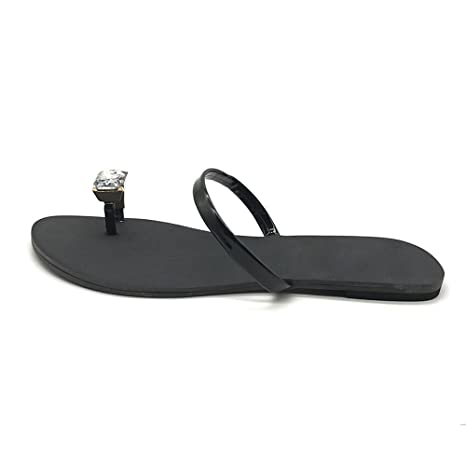 Sandalias De Las Mujeres, YiYLinneo Mujeres Moda Color SóLido Flor Plana Flip Flops Sandalias Zapatillas Zapatos De Playa Casual Flip-Flops: Amazon.es: Ropa ...