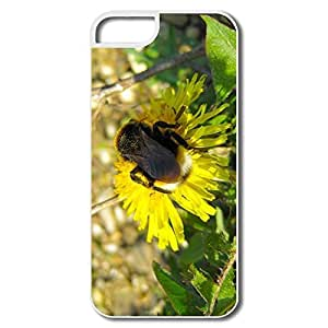 Favorable Bumble Bee Sitting Pc Cover For IPhone 5/5s