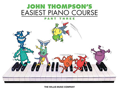 Course Part (John Thompson's Easiest Piano Course - Part 3 - Book Only)