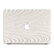 "BELK-MacBook Air 13"" Case,2 In 1 Ultra Slim Wood Texture Pattern Coated Plastic Hard Case With Keyboard Cover For MacBook Air 13.3 Inch(Model:A1465/A1374)"