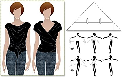 Style Arc Sewing Pattern Simply Sally Top Sizes 04-16 - Click for Other Sizes Available