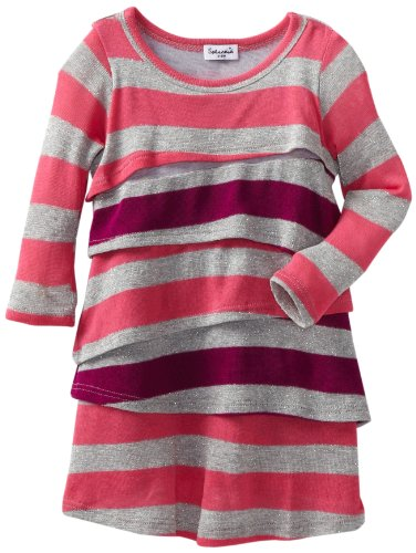 Splendid Littles Baby-girls Newborn Platinum Stripe Dress