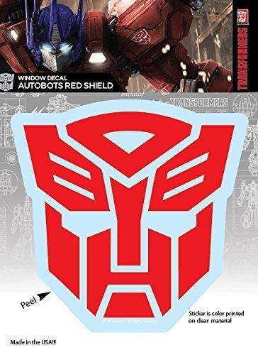 Amazoncom Elephant Gun Transformers Autobots Red Shield Logo Car