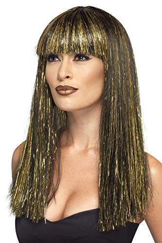 Smiffys Women's Egyptian Goddess Wig, Multi, One -