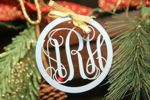 Personalized Christmas Ornament- Circle Hollow - Rayban Circle