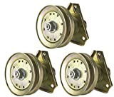 Three (3) Pack Erie Tools Lawn Mower Spindle Assembly Fits John Deere AM126226 LT 160, LT 166, LT 180, Sabre Lawn Tractor
