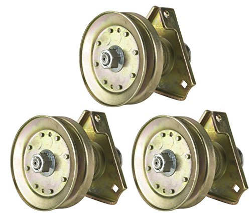Three (3) Pack Erie Tools Lawn Mower Spindle Assembly Fits John Deere AM126226 LT 160, LT 166, LT 180, Sabre Lawn Tractor by Erie Outdoor Power Equipment