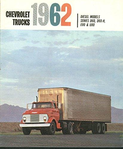 1962 Chevrolet Trucks Diesel Series D60 D-60H E 80 U80 brochure