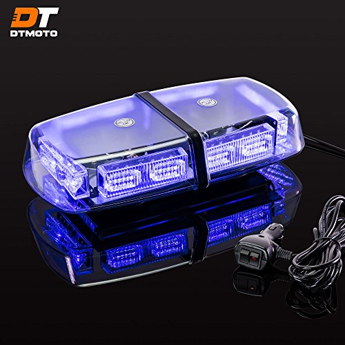 Blue Led Emergency Vehicle Lights in US - 5