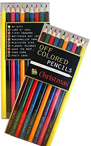 CHRISTMAS, Off Colored Pencils - Funky Names For Friendly Colors (Deep Purple Made In Japan Box Set)