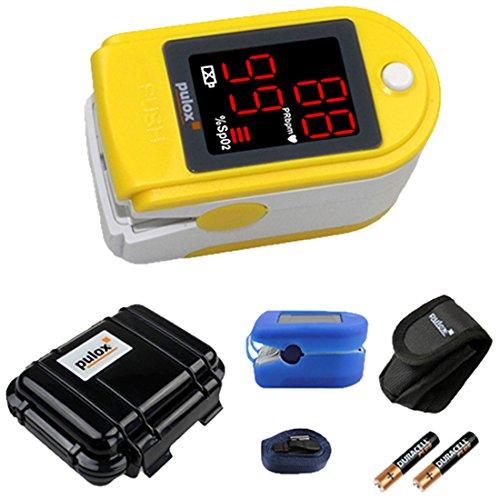 37 opinioni per Pulox PO-100 Pulsossimetro con display a LED, di colore giallo, incl. Hardcase,