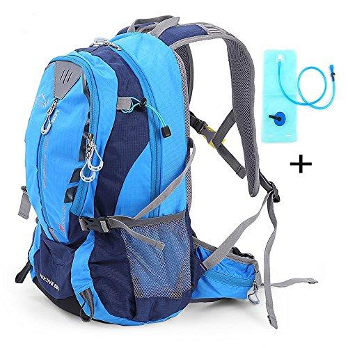 Ezyoutdoor Backpack Outdoor Climbing Rucksack Waterproof Mountaineering Hiking  Backpacks Molle Sport Bag Camping Bag 2254b5bfd3