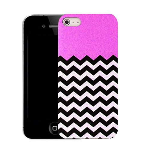 Mobile Case Mate IPhone 5S clip on Silicone Coque couverture case cover Pare-chocs + STYLET - pink energetic pattern (SILICON)