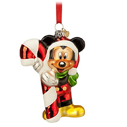 disney sketchbook mickey mouse glass ornament christmas ornament - Mickey Mouse Christmas Decorations