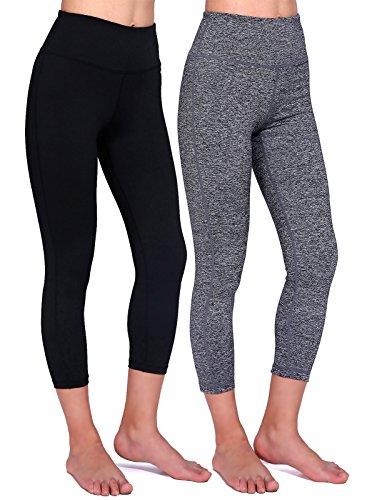 Daisity Womens Yoga Capris Activewear