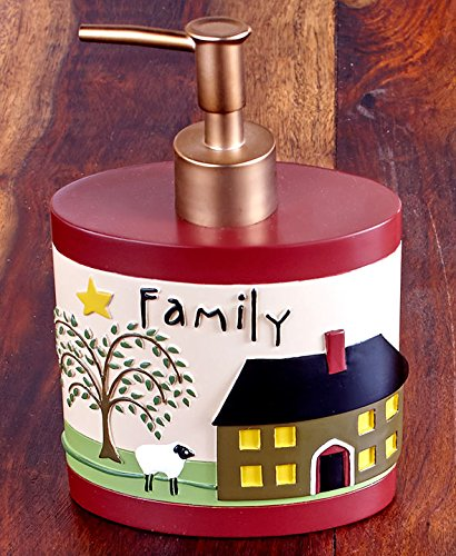 The Lakeside Collection Faith & Family Soap/Lotion Pump