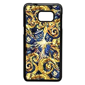Samsung Galaxy S6 Edge Plus Phone Case Black Doctor Who WQ5RT7580249