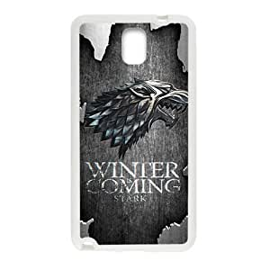 KORSE Winter Coming Stark Fashion Comstom Plastic case cover For Samsung Galaxy Note3