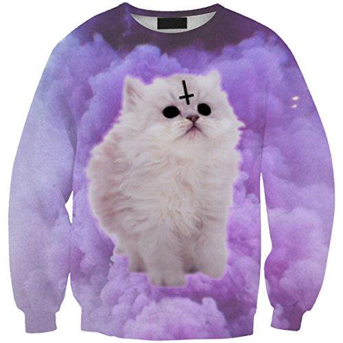 Il Donne Cat 3 Supera Felpe T Sottile Yichun Tempo Libero Ragazze shirt qgZZ4t