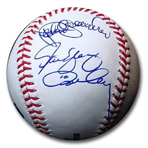 Guerrero Signed Baseball - Pedro Guerrero Ron Cey Steve Yeager Signed Autographed MLB Baseball Dodgers COA - Autographed Baseballs