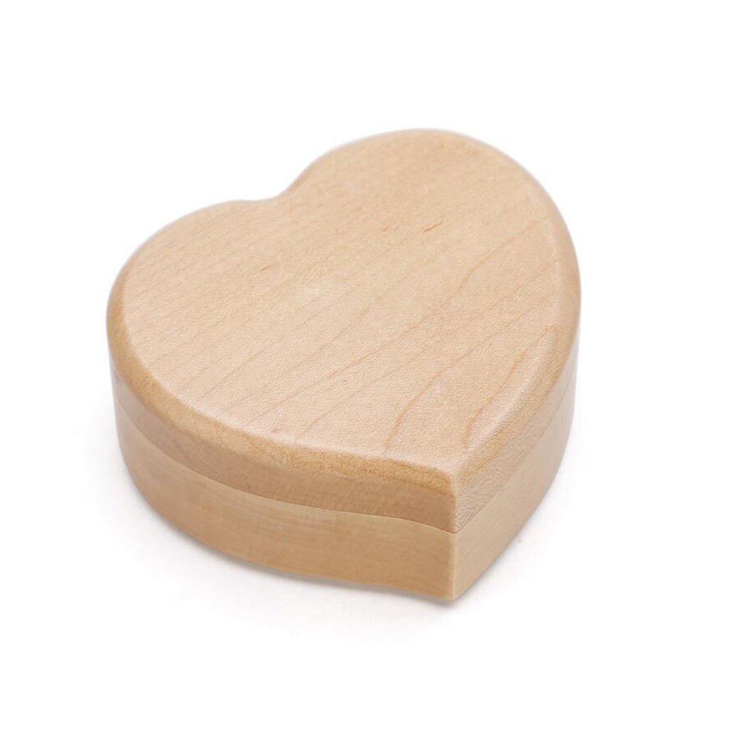 QZ HOME Aus Holz Spieluhr Spieluhr Spieluhr Vier Arten von Musik Geburtstagsgeschenk Kreativität Herzförmige Spieluhr (Farbe : Sky City) 19fe8b