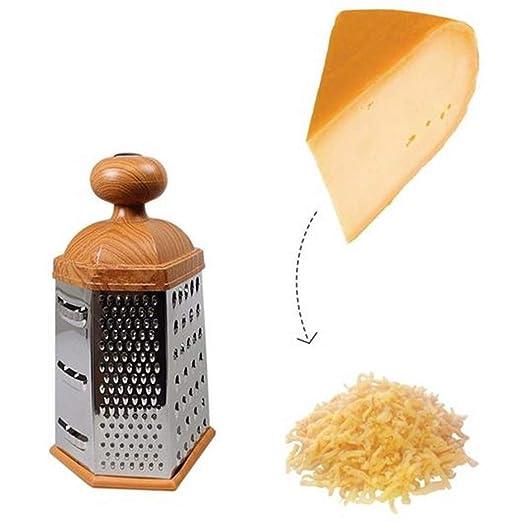 Rallador profesional para queso, triturador de ajo, jengibre ...