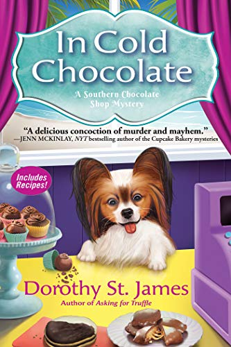 In Cold Chocolate: A Southern Chocolate Shop Mystery