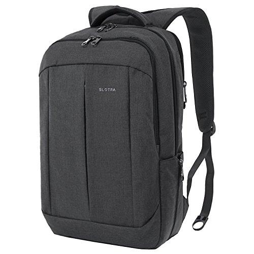 Slotra Business Rucksack 15.6 -17 Zoll Laptop Diebstahlschutz Mordern Mutilfunktion Outdoor Unisex Backpack 20L Grau, 45x29x15cm