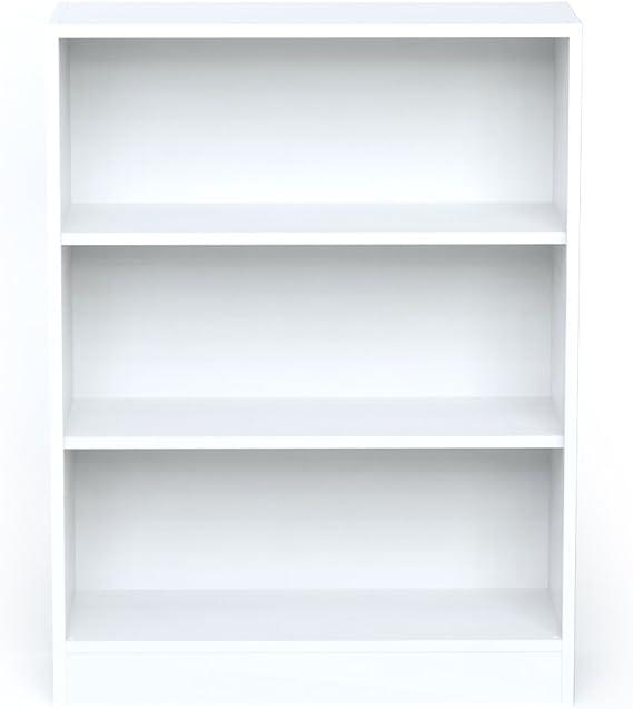 INFINIKIT Haven Pequeño Librero , Blanco, 79x104,5x28 cm: Amazon ...