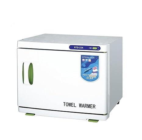 2 en 1 Caliente Toalla Más cálido Gabinete UV Esterilizador Calentador Grande Capacidad Spa Facial Uñas