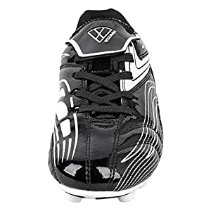 Vizari Youth/Jr Striker FG Soccer Cleats | Soccer Cleats Boys | Kids Soccer Cleats | Outoor Soccer Shoes | Black/White 8