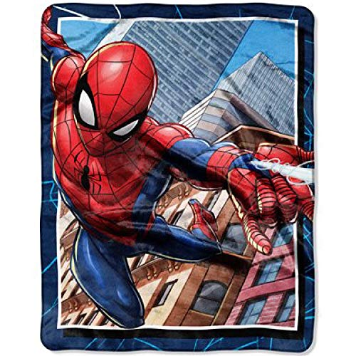 Spiderman Kids Marvel Throw Blanket ()